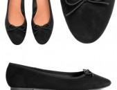 Nor kanaci koshik, zamshic baletka # 36, կոշիկներ, женские туфли, shoes