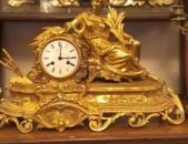Антикварные часы / բրոնզե սեղանի ժամացույց