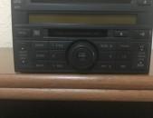 Nissan Tida Զովոդսկոյ մոգնիտոֆոն