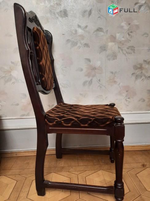 Աթոռներ 6 + 2 հատ