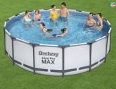 Basein բասեին бассейн havaqovi loxvazan 457х122см, intex bestway k56438