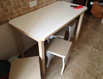 Պատվերով    սեղան աթոռ