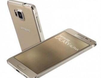 Samsung galaxi alpha gold