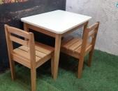 Աթոռ սեղան մանկական ator sexan mankakan