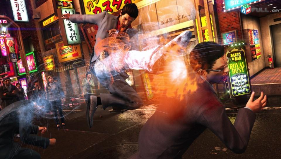 Yakuza 6 Essence of Art Edition PS4 PS5 Playstation 4 Playstation 5 նոր փակ տուփ