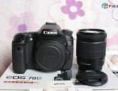 Canon EOS 70D DSLR Camera with Canon EF-S 18-55mm f/3.5-5.6 IS STM Lens.