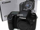 Canon EOS 7D DSLR Camera with body.