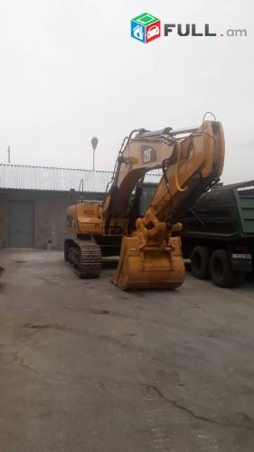 Կատարում ենք հողային շինարարական աշխատանքներ   Cat336 թրթուրավոր էքսկավատրով