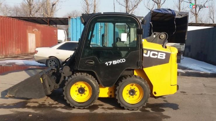 Կատարում ենք հողային շինարարական աշխատանքներ   Bobcat JCB -175բարձիչով