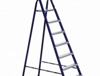 ALUMET M 8408 Աստիճան կապույտ երկաթե 3.70մ / astichan  / astijan