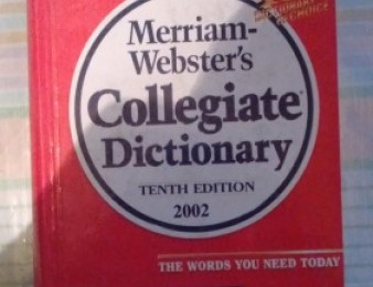 Angleren Bararan Merriam-Webster's