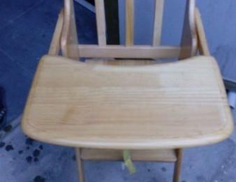 Մանկական փայտե կերակրման սեղան աթոռ