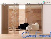 Սլայդ դռներ - Slayd drner - Glass Friends