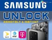 SAMSUNG Unlock Service S20, S20 +, S20 Ultra, S10, S10 +, S10e, Note 10, Note 9