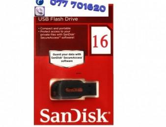 Fleshka ֆլեշկա sandisk 16 gb նոր ամենալավ վորակն