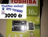 TOSHIBA microSD Micro sd 16 GB