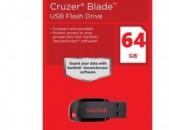 SANDISK 64Gb флешка Usb Flesh ֆլեշկա usb 2 փակ տուփ 2 ամիս երաշխիք USB Flash