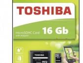 hishoxutyan qart  toshiba16 gb  չիպ    Micro sd 16 GB klass 10