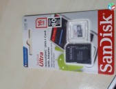 hishoxutyan qart   sandisk ultra 16 gb  չիպ Micro sd 16 GB klass 10