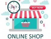Ինտերնետ խանութների ստեղծում 30% զեղչով