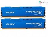 RAM / Օպերատիվ հիշողություն / HyperX HX316C10FK2 / 8 / 2 hat 4Gb / 1600Mhz