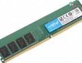 RAM / Օպերատիվ հիշողություն / Crucial / 8Gb / 2400Mhz / DDR4 / PC4 - 2400