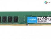 RAM / Օպերատիվ հիշողություն / Crucial / 4Gb / 2400Mhz / DDR4 / PC4 - 2400