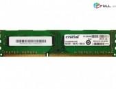 RAM / Օպերատիվ հիշողություն / Crucial / 4Gb / 1600Mhz / DDR3 / PC3L - 12800U