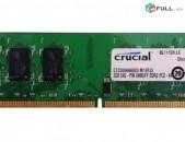 RAM / Օպերատիվ հիշողություն / Crucial / 2Gb / 800Mhz / DDR2 / PS2 - 6400U