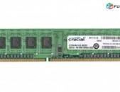 RAM / Օպերատիվ հիշողություն / Crucial / 2Gb / 1600Mhz / DDR3 / PC3 - 12800U