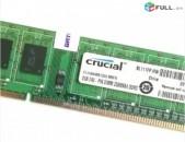 RAM / Օպերատիվ հիշողություն / Crucial / 2Gb / 1333Mhz / DDR3 / PC3 - 10600U