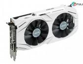 Видеокарта / վիդեոկարտա / ASUS GeForce GTX 1060 DUAL / 3 Gb / 192 Bit / GDDR5