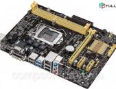 Socket LGA 1150 Motherboard / մայրասալիկ / H81 ASUS H81M-E