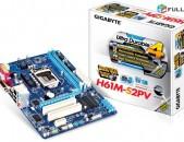 Socket LGA 1155 Motherboard / մայրասալիկ / H61 GIGABYTE GA-H61M-S2PH