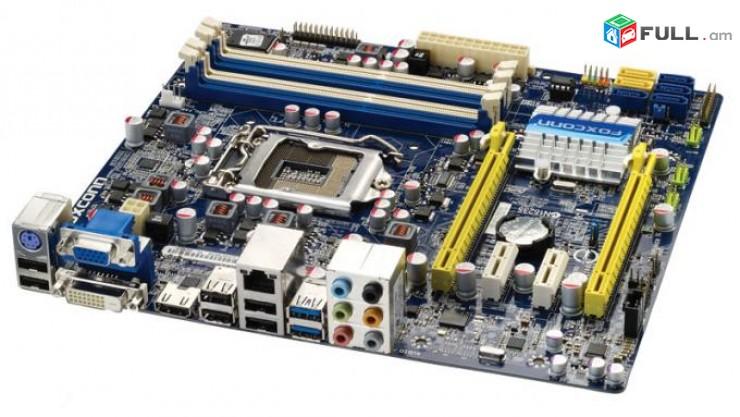 Socket LGA 1155 Motherboard / մայրասալիկ / H67 FOXCONN H67MP