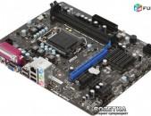 Socket LGA 1155 Motherboard / մայրասալիկ / H61 MSI H61M-P23