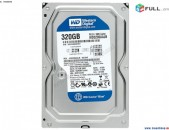 HDD 320 Gb Жесткий диск Western Digital WD Blue