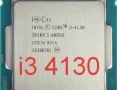 CPU / պրոցեսոր / Intel Core i3-4130 3 МБ кэш-памяти, тактовая частота 3,40 Ghz