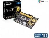 Socket LGA 1150 Motherboard / մայրասալիկ / H61 Asus H81M-E