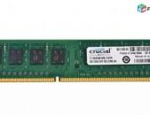 RAM / Օպերատիվ հիշողություն / Crucial / DDR3 / 8Gb / 1600Mhz / 1333Mhz