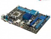 Socket LGA 775 Motherboard / մայրասալիկ / G41 Asus P5G41T-M LX3 PLUS