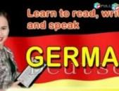 Germanereni usucum / Germanereni das@ntacner / Գեռմաներենի դասընթացներ