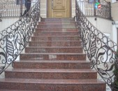 Աստիճանների կառուցում ,աստիճանների երեսապատում (Ablicovka)