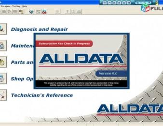 Alldata, ElsaWin, Tolerans, Autodata, Xentry/Das
