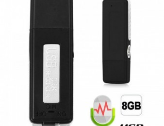 Juchok fleshka 8GB - диктофон (barcrakarg)
